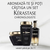Castiga un set Kerastase Chronologiste!